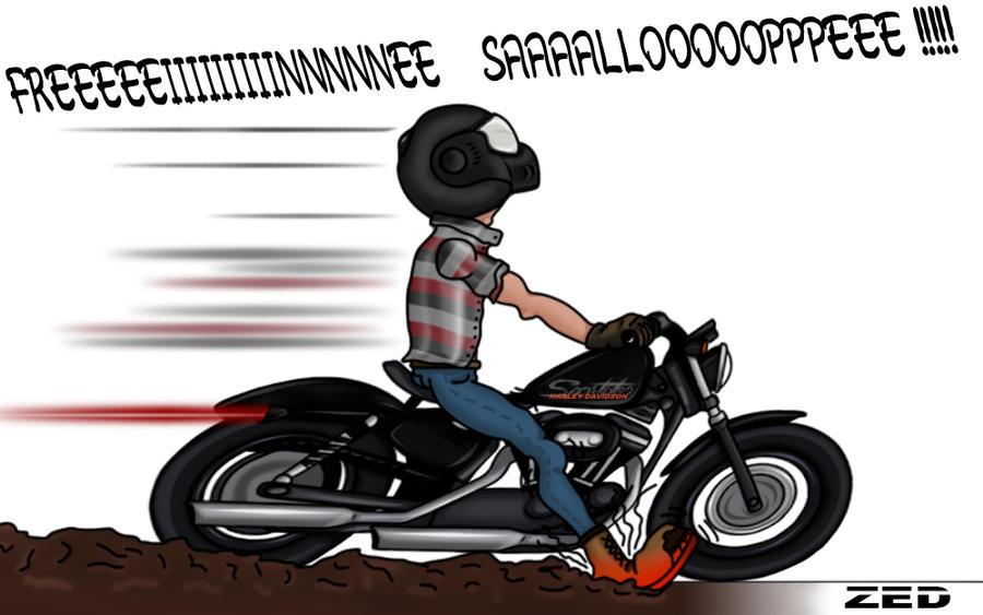 Harley Davidson Sportster by Zed03 on DeviantArt