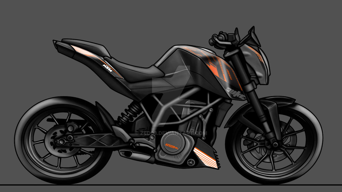 Ktm Duke 390 By Zed03 On Deviantart
