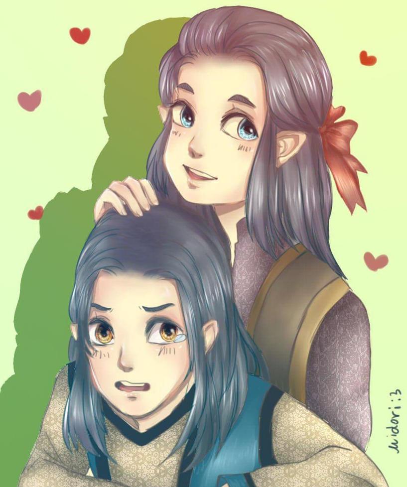 Elladan and Elrohir by Decem13