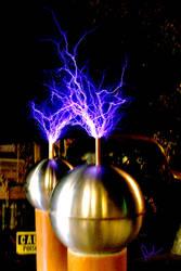 Tesla Coil 1 by DerekTall