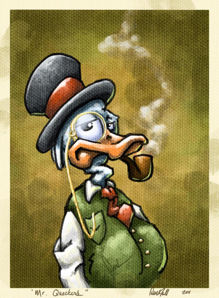 Mr. Quackers by DerekTall