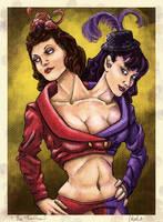The Twins by DerekTall