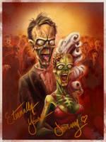 Zombie Prom by DerekTall