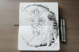 Paper Plane Wonderland by Alicearisuu