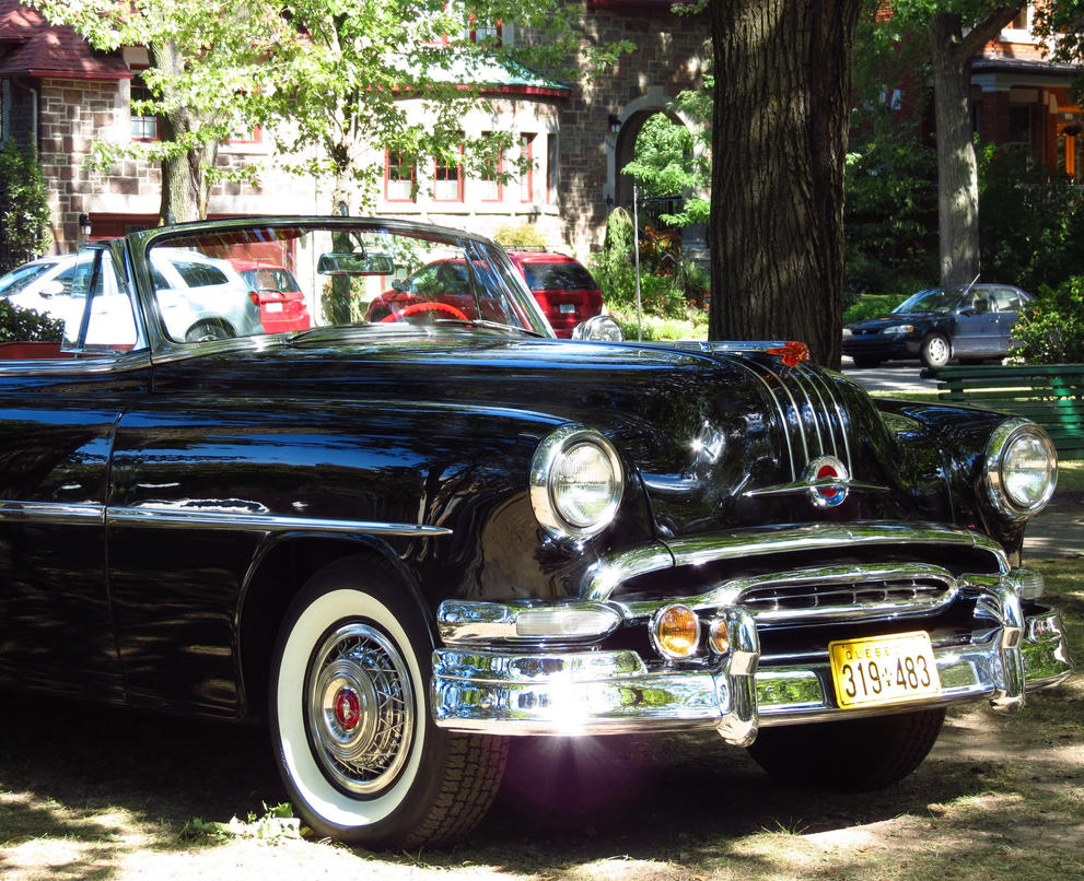 1941 Pontiac Star Chief 1954 Convertible Front View By Kitteh Pawz On