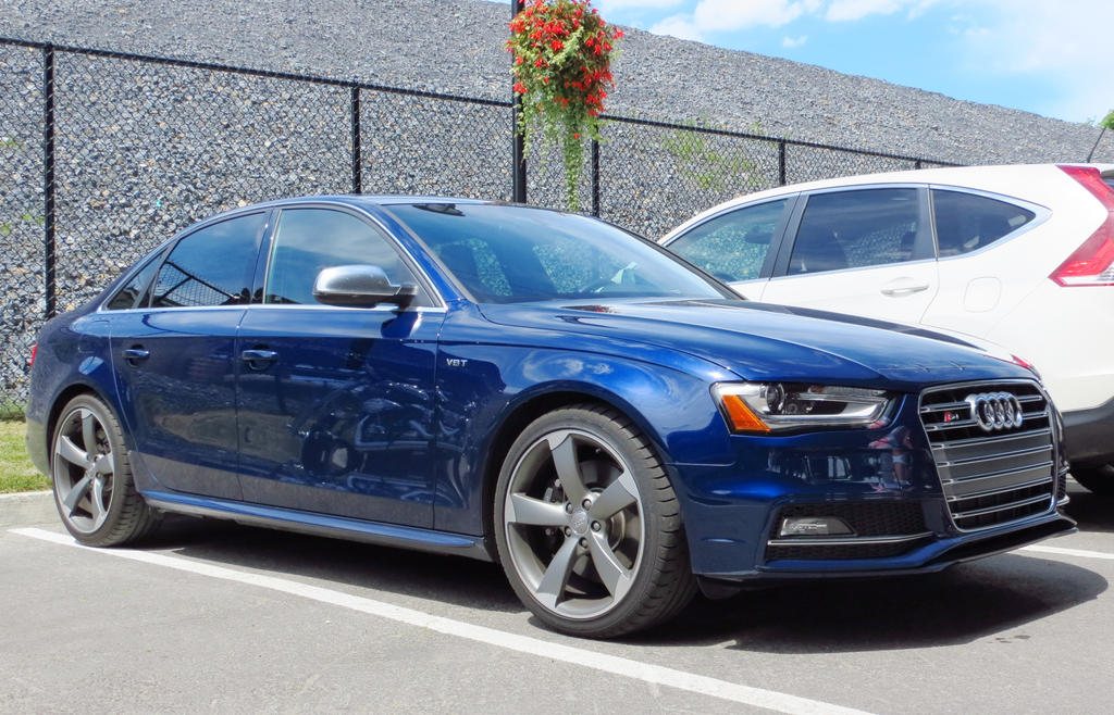 Audi S4 Side View By Kitteh Pawz On Deviantart