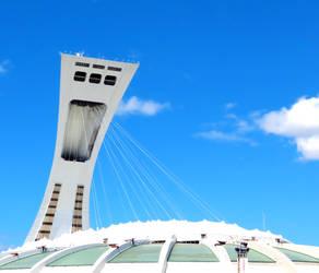 Montreal Olympic Stadium by Kitteh-Pawz