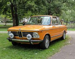 1973 BMW 2002 Tii with Hella Headlights