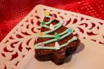 Christmas Tree Brownie