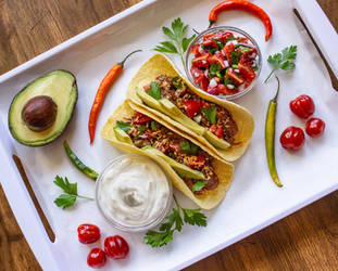 Shredded Beef Tacos by Kitteh-Pawz
