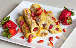 Strawberry Nutella French Toast Roll Ups by Kitteh-Pawz