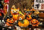 Spookytastic Friends by Kitteh-Pawz
