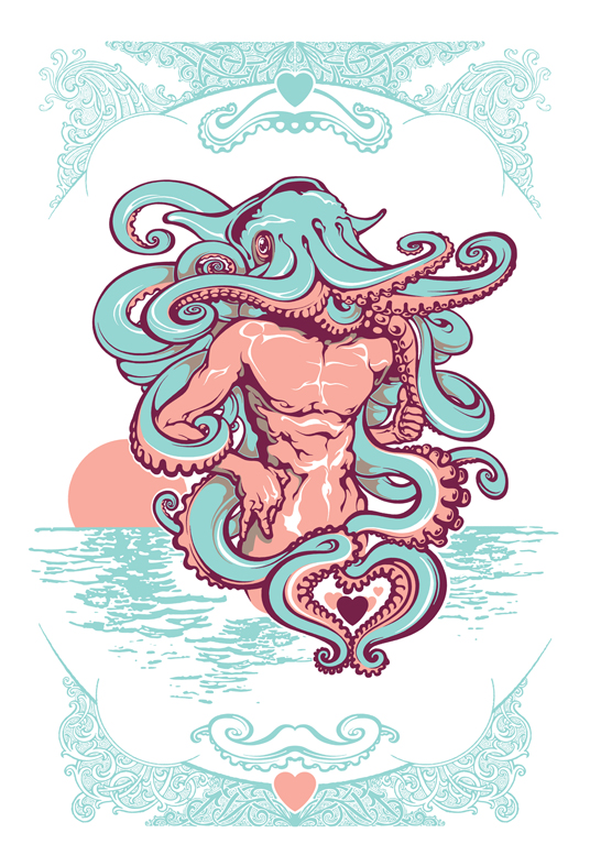 Cthulhu-s Mustache by pseudo-manitou