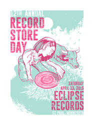 Record Store Day poster for Eclipse Records