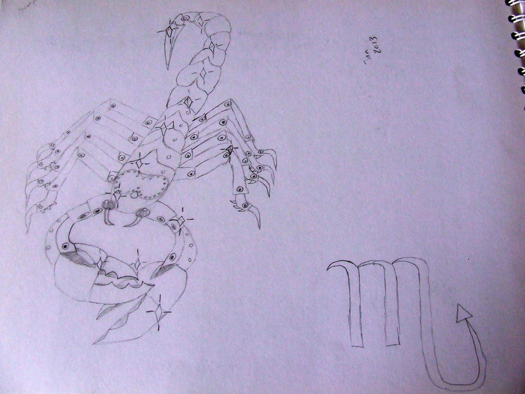 Scorpio by Skarlette8000