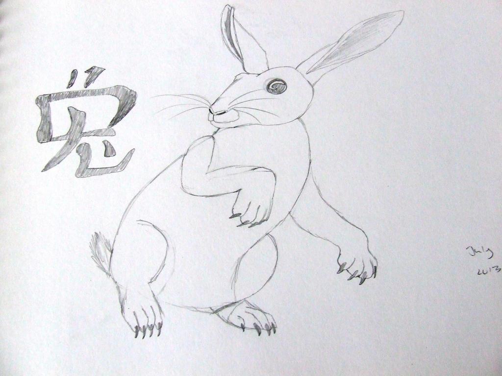 Rabbit by Skarlette8000