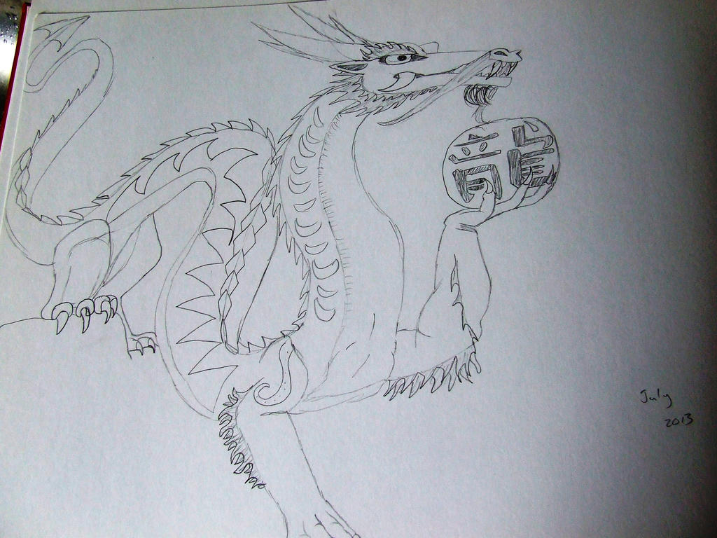 Dragon by Skarlette8000