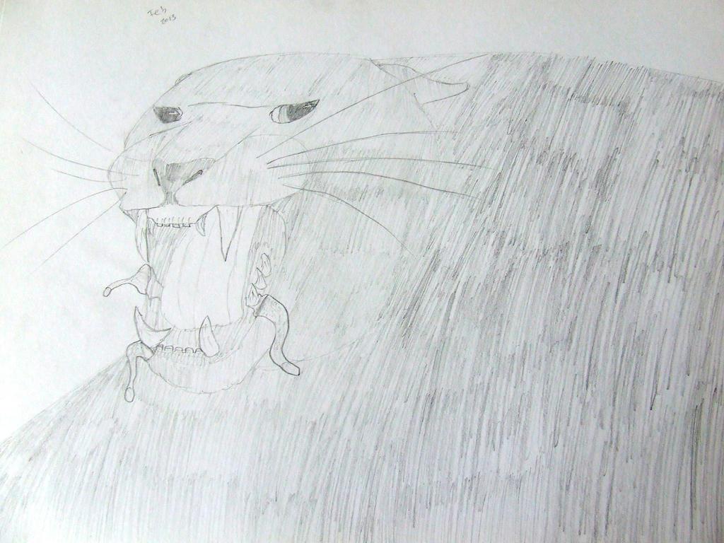 Black Panther by Skarlette8000