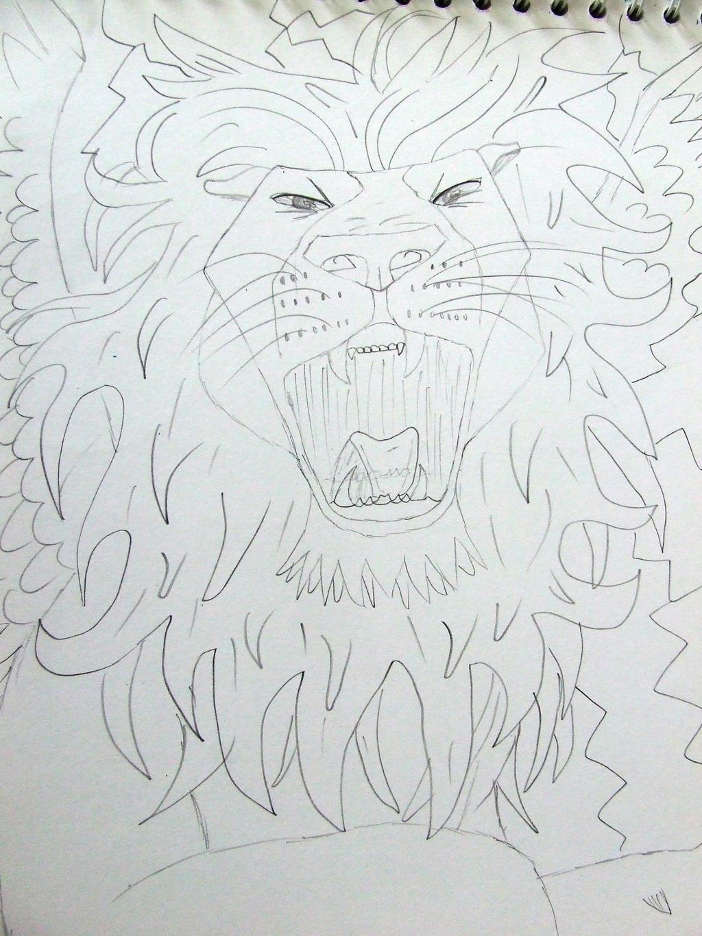 Lion by Skarlette8000
