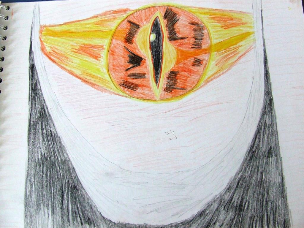 The Eye of Sauron by Skarlette8000