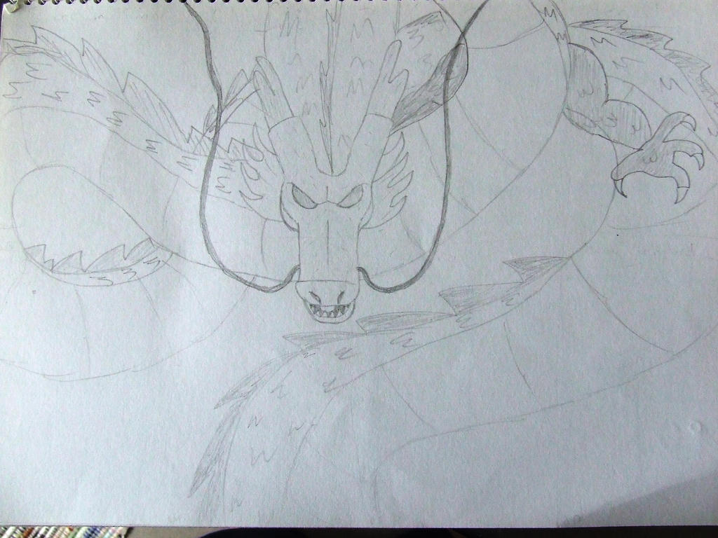 Dragon 3 by Skarlette8000