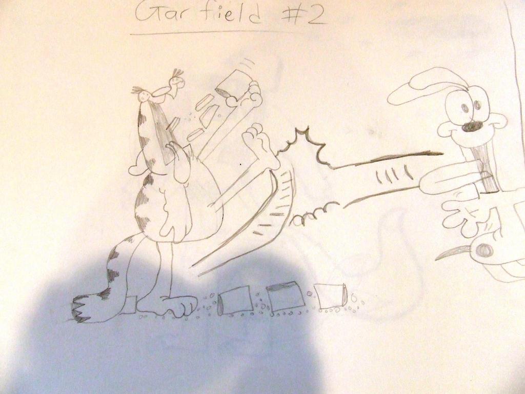 Garfield by Skarlette8000