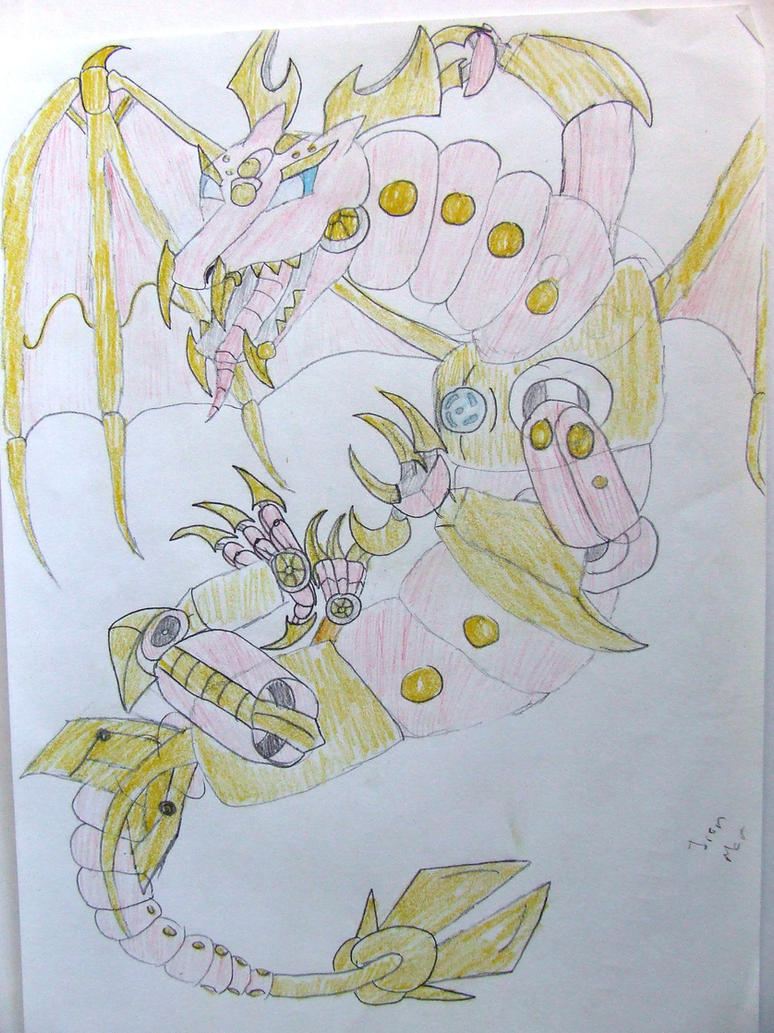 Iron Man Dragon by Skarlette8000