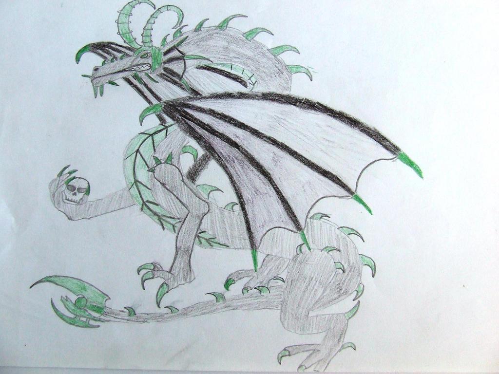 Loki Dragon by Skarlette8000