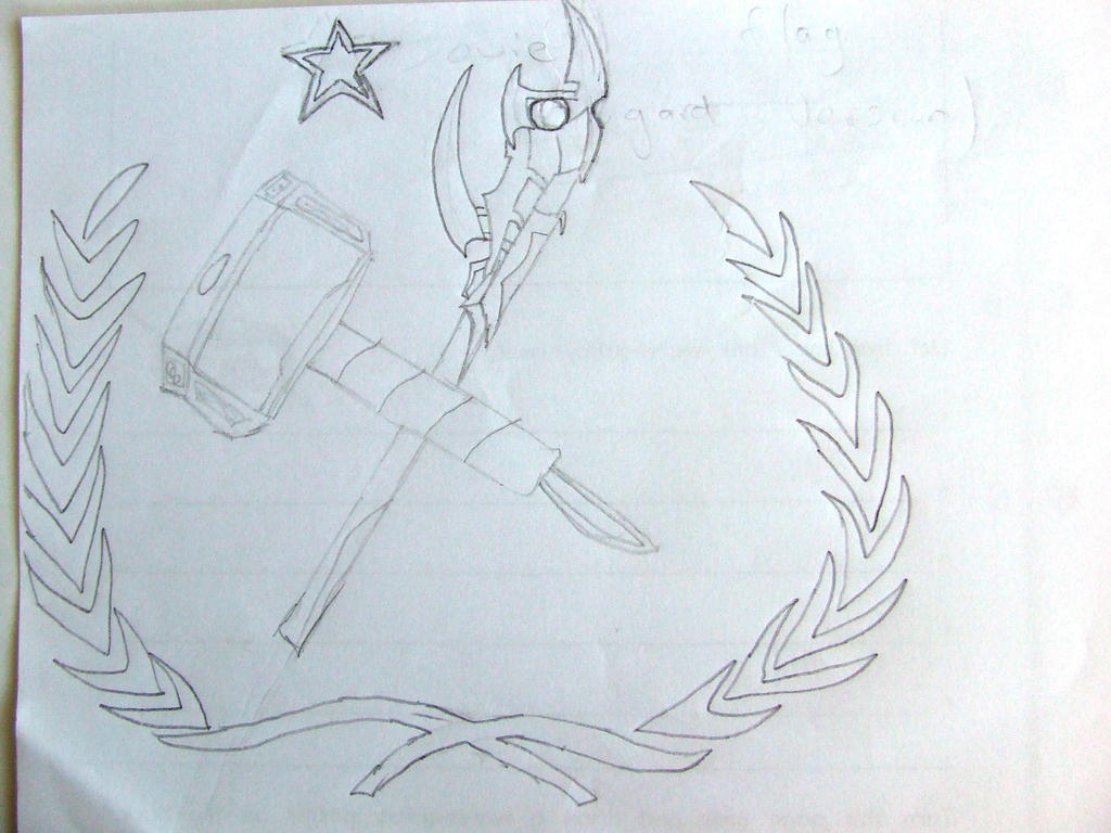 Soviet Flag Asgard Style by Skarlette8000