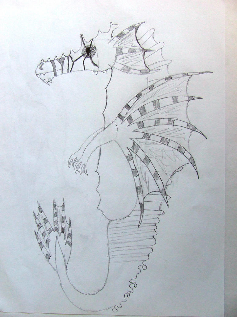 Seahorse Dragon by Skarlette8000