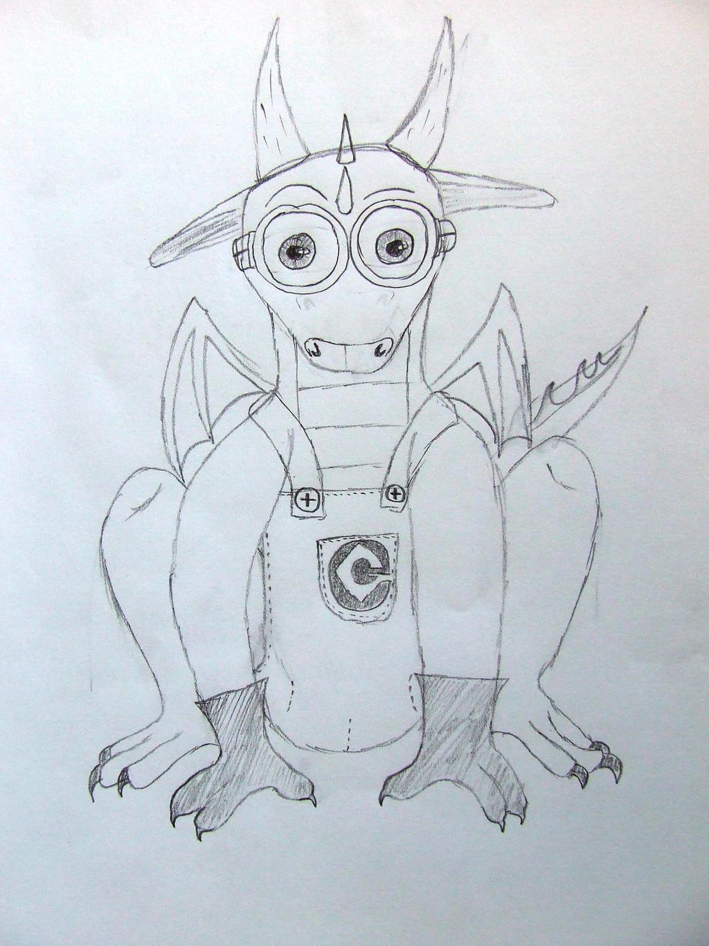 Minion Dragon by Skarlette8000