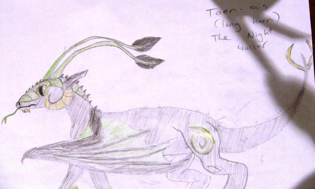 Taen-Rais (Long Horn) The Night Wanderer by Skarlette8000