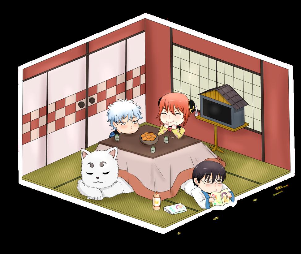 Yorozuya Family by azurmc