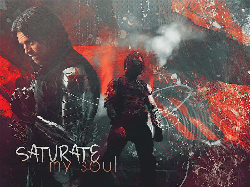 saturate my soul by Super-Fan-Wallpapers