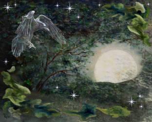 Spirit Raven by ftmckinstry