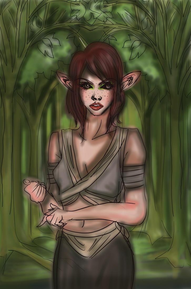Elf of Elbonwind2000 Semifin by Clchriskl