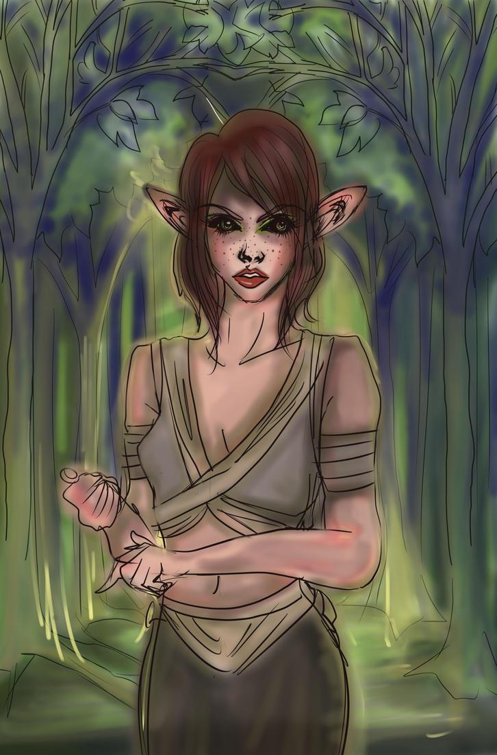 Elf of Elbonwind2000 Fin by Clchriskl