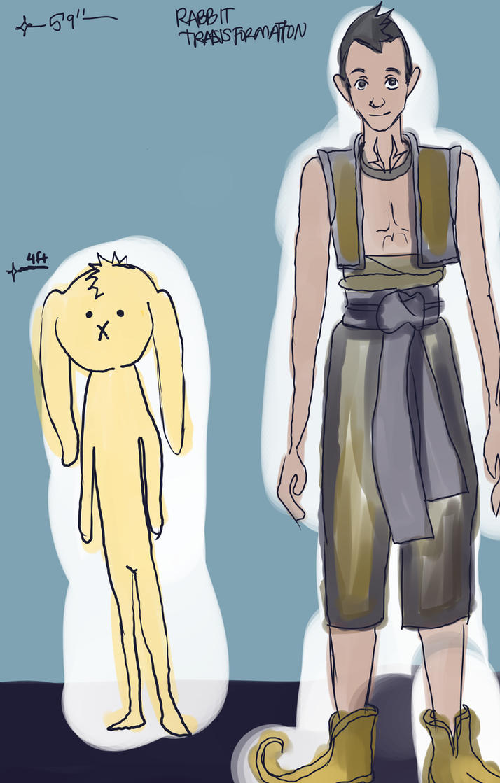 VS oc Rabbit Concept initialcolor2 by Clchriskl