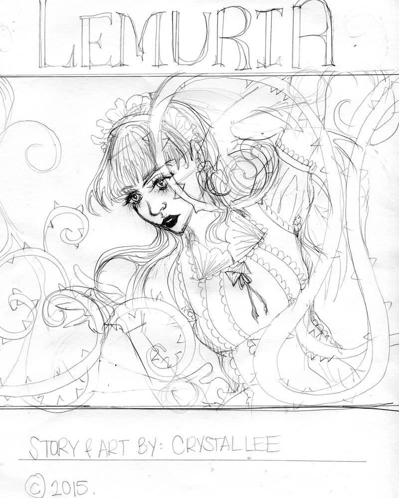 Lemuria - Cover Art - WIP by Clchriskl