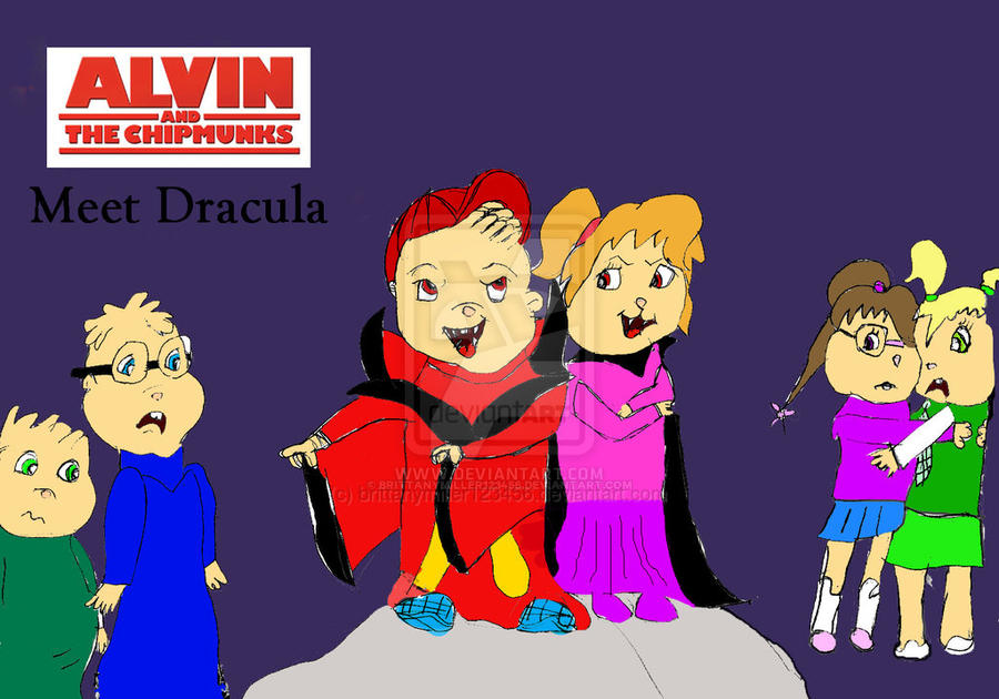Alvin And The Chipmunks Meet Dracula By Brittanymiller123456 On