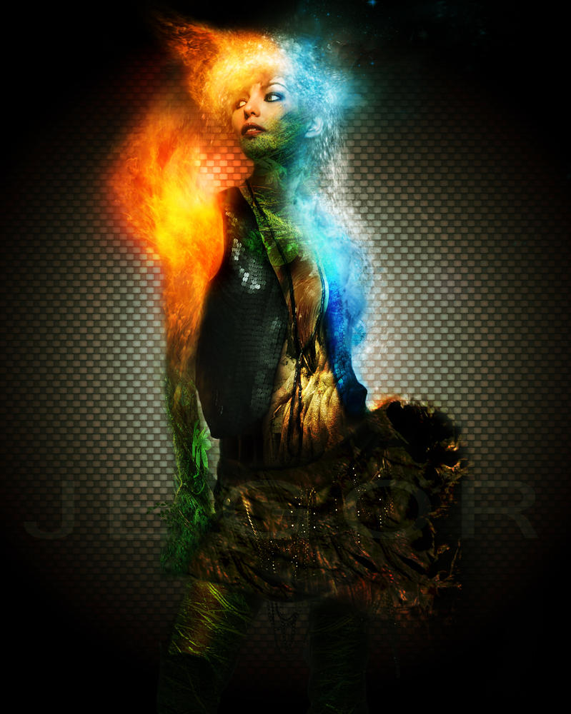The Art of Being a Monster: ElementalFemale Fire Elemental