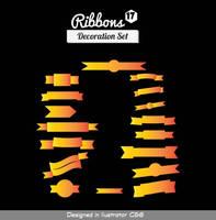 Vector Ribbons 17 by symufa