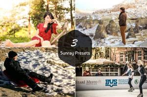 3 Free Sunray Presets by symufa