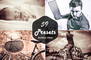 59 Lightroom Presets Bundle by symufa