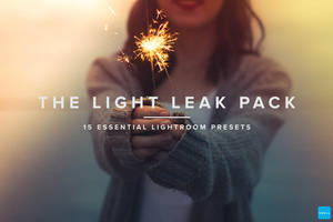Free Download  Light Leaks Presets - Lightroom by symufa
