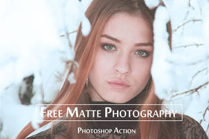 Free Download 10 Matte Photoshop Actions by symufa