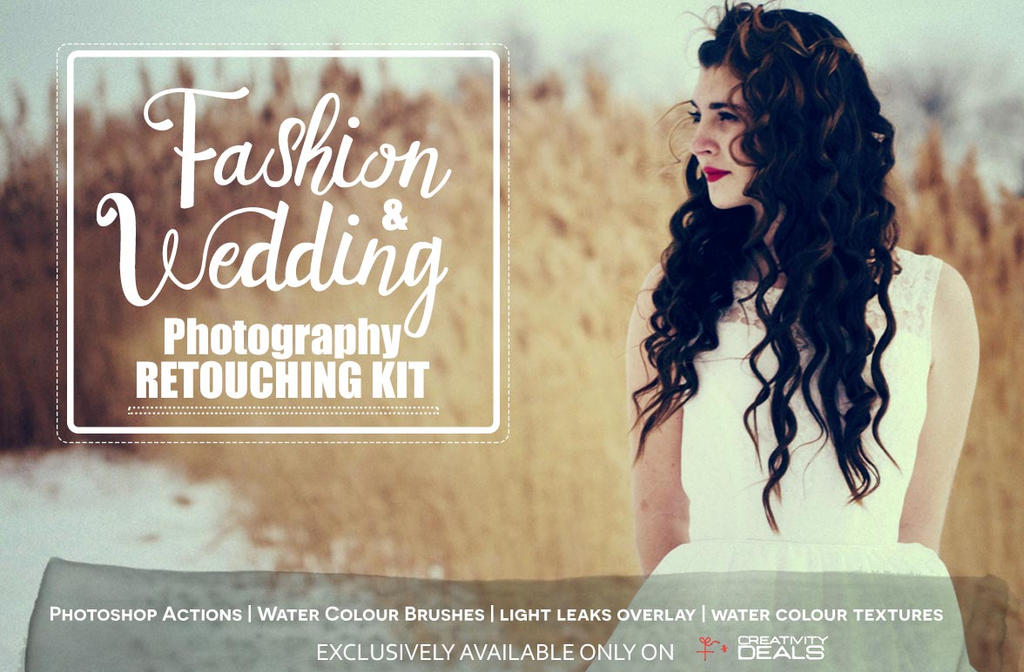 Wedding Photography Retouching: Free Fashion Wedding Photography Retouching Kit By Symufa