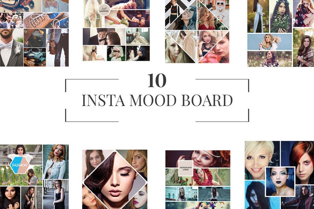 mood board instagram how to make