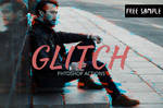 Free Glitch Effect Photoshop Action