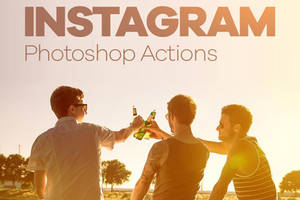 30 Free Instagram Photoshop Actions by symufa
